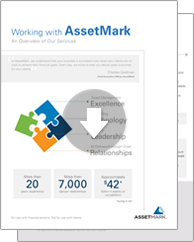 Working with AssetMark